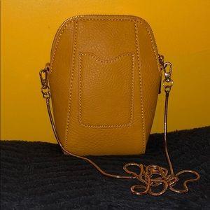 Handbags - Mini Crossbody Handbag - Gold